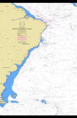 CARTA 19001 - (INT 20) COSTA DA AMÉRICA DO SUL