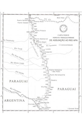 CARTA 3325-  DA ISLA SAN CARLOS A ISLA PIQUETE- CAMBÁ
