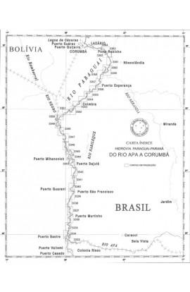 CARTA 3335 - DO RIACHO GUAICURUS À ILHA SANTA MARIA