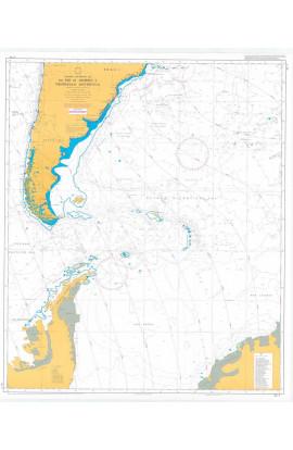 CARTA 2 - OCEANO ATLÂNTICO SUL - DO RIO DE JANEIRO À PENÍNSULA ANTÁRTICA