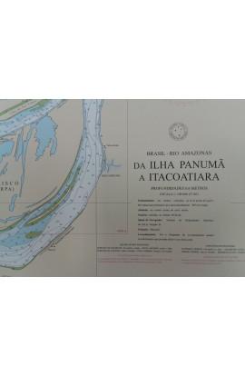 CARTA 4029 - DA ILHA PANUMÃ A ITACOATIARA