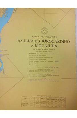 CARTA 4362 - DA ILHA DO JOROCAZINHO A MOCAJUBA