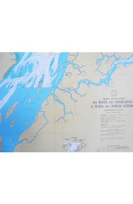 CARTA 4361 - DA BAÍA DO MARAPATÁ À ILHA DO JOROCAZINHO
