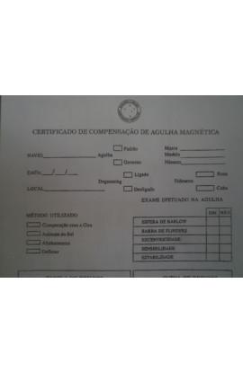 IMPRESSO - CERTIFICADO DE COMPENSAÇÃO DE AGULHA MAGNÉTICA