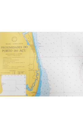 CARTA 1406 - PROXIMIDADES DO PORTO DO AÇU