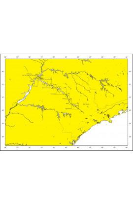 2800-9 - ATLAS DA HIDROVIA TIETÊ-PARANÁ (RESERVATÓRIO  BARRA BONITA)